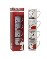 STMGPE01 - PEANUTS - MUGS STACKING SET OF 4 - PEANUTS (THAT'S FANTASTIC)