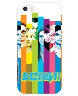 TBBT55 - COVER IPHONE 6-6S THE BIG BANG THEORY COLORS OPACA