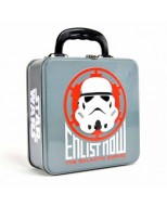 TOTESW05 - STAR WARS - TIN TOTE (EMBOSSED) - STAR WARS (STORMTROOPER ICON)