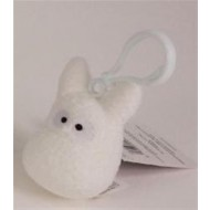 60674 - TOTORO - TOTORO WHITE BACKPACK CLIP
