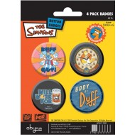ABYACC051 - SET DI SPILLE SIMPSONS DUFF