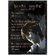 ABYDCO053 - DEATH NOTE - LAMINATED POSTER RAITO & L