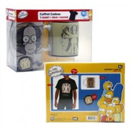 ABYPCK005 - SIMPSONS - GIFT BOX - T-SHIRT HOMER DA VINCI M + TAZZA + SPILLA