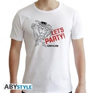 ABYTEX602L - T-SHIRT UOMO - GREMLINS - LET'S PARTY L