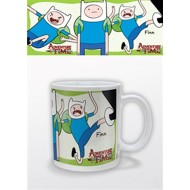 ADVENTURE TIME - TAZZA - FINN