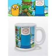 ADVENTURE TIME - TAZZA - FINN & JAKE