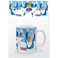 ADVENTURE TIME - TAZZA - ICE KING