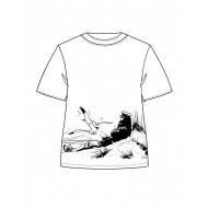 CORTO MALTESE - T-SHIRT - BEACH - L