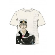 CORTO MALTESE - T-SHIRT - WATERCOLOR - S