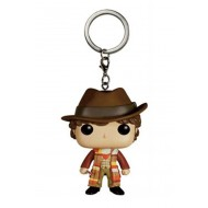 DOCTOR WHO - POP FUNKO KEYCHAIN 4TH DOCTOR 4 CM