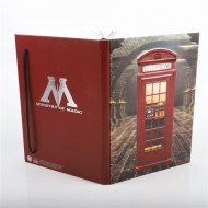 GIFWOW033 - HARRY POTTER - 3D NOTEBOOK - MINISTERO DELLA MAGIA