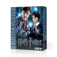 HARRY POTTER - WREBBIT POSTER PUZZLES - HARRY POTTER