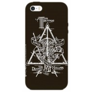 HP38 - COVER IPHONE 6-6S HARRY POTTER DEATHLY HALLOWS OPACA