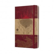 MOLESKINE 18 MESI LIMITED EDITION - HARRY POTTER WEEKLY NOTEBOOK LARGE RED
