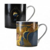 MUGBDF16 - BEAUTY & THE BEAST - MUG HEAT CHANGING (400ML) - BEAUTY & THE BEAST (ROSE)