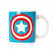 MUGBMV06 - CAPTAIN AMERICA - MUG BOXED (350ML) - MARVEL (CAPTAIN AMERICA LOGO)
