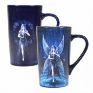 MUGLAS01 - ANNE STOKES - MUG LATTE HEAT CHANGING BOXED - ANNE STOKES (ENCHANTMENT)
