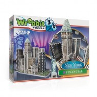 NEW YORK - WREBBIT 3D PUZZLES - FINANCIAL