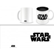 STAR WARS - TAZZA BLACK LOGO