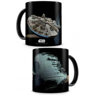 STAR WARS - TAZZA FALCON VS DEATH STAR