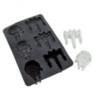 SW00570 - STAR WARS - ICE CUBE TRAY: X-WING & MILLENIUM FALCON