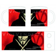 TAZZA - V FOR VENDETTA - FREEDOM FOREVER