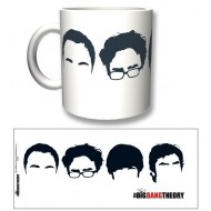 TBBT41 - TAZZA THE BIG BANG THEORY FACES