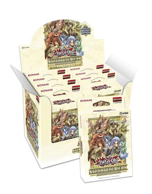 BOX YU-GI-OH! - STRUCTURE DECK - AMMALIATORI DI SPIRITI (8 MAZZI) ITA
