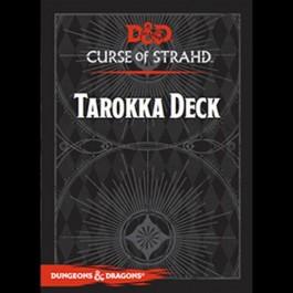 D&D 5.0 - CURSE OF STRAHD - TAROKKA DECK - ENG