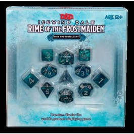 D&D 5.0 - ICEWIND DALE: DICE SET RIME OF THE FROSTMAIDEN