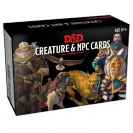 D&D 5.0 - MONSTER CARDS - NPCS & CREATURES - ENG