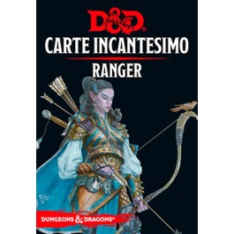 D&D 5A EDIZIONE ITA - CARTE INCANTESIMO RANGER