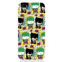 DCHIBI08 - COVER IPHONE 5 BATMAN AND JOKER SPLASH