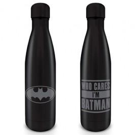 MDB25541 - DC COMICS: BATMAN - BOTTIGLIA IN METALLO 550ML - WHO CARES I'M A BATMAN