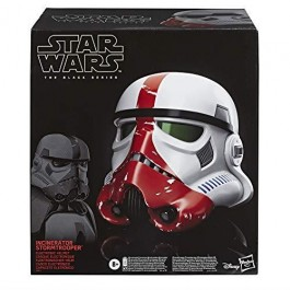 STAR WARS - BLACK SERIES - CASCO ELETTRONICO TROOPER INCENERATOR