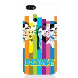TBBT55 - COVER IPHONE 5 THE BIG BANG THEORY COLORS