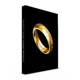 THE LORD OF THE RINGS - NOTEBOOK - THE ONE RING (15X25CM)