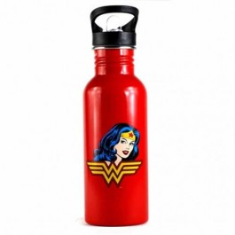 WTRBWW01 - WONDER WOMAN - WATER BOTTLE (METAL 600ML) - WONDER WOMAN (HUMOUR)