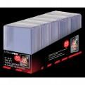 15285 - 50 TOPLOADER 3' X 4' - SUPER THICK 130PT + CARD SLEEVES