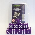 40021 -  SET 15 DADI D6 16MM - VIOLA