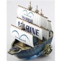 44786 - ONE PIECE - GRAND SHIP COLLECTION 07 - MARINE WAR SHIP - 13 CM