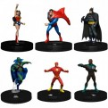 69489 - DC HEROCLIX: JUSTICE LEAGUE UNLIMITED BOOSTER BRICK (10)