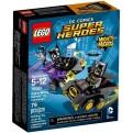 76061 - MIGHTY MICROS: BATMAN CONTRO CATWOMAN