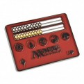86703 - CARD SIZE ABACUS LIFE COUNTER - MAGIC: THE GATHERING - RED