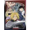 ABYDCO007 - FULL METAL ALCHEMIST - LAMINATED POSTER FMA CHARACTERS #1 X10