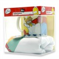 ABYPCK006M - SIMPSONS - GIFT BOX - T-SHIRT ITCHY E SCRATCHY M + TAZZA + SPILLA