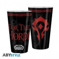 ABYVER154 - WORLD OF WARCRAFT - BICCHIERE 400ML HORDE