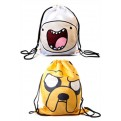ADVENTURE TIME - GYM BAG REVERSIBILE - FINN & JAKE