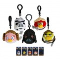 ANGRY BIRDS - STAR WARS - CLIP-ON MINI PELUCHE DISPLAY 6 CM (24)