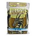 AT-10106 - 50 BUSTINE DRAGON SHIELD MINI - ORO